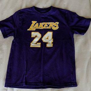 Kids Kobe Bryant t-shirt, sz S